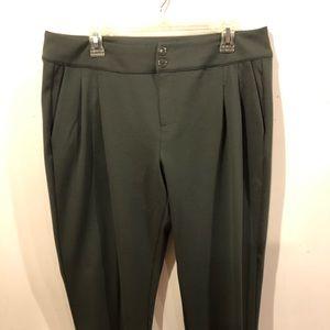 G by Giuliana Women's Army Green Pants Size 14